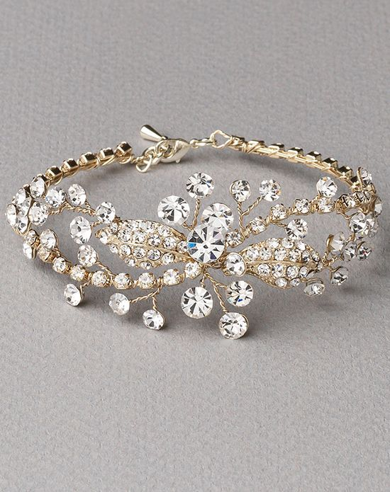 Rhinestone Gold Wedding Bracelet Usa Bride Jb 4839 Http Trib