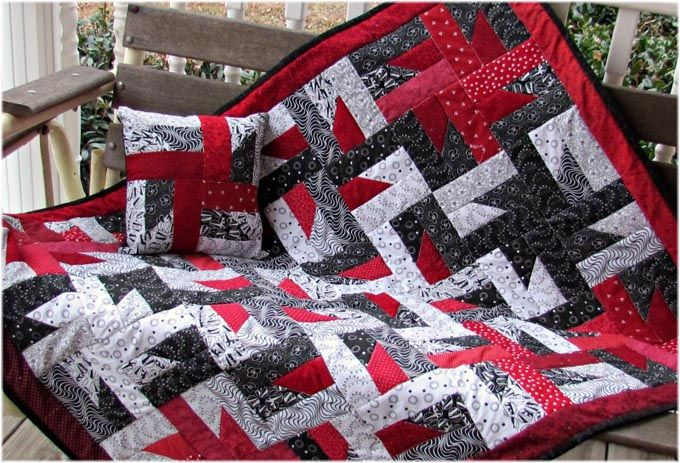 Jelly Roll Quilt Patterns Easy