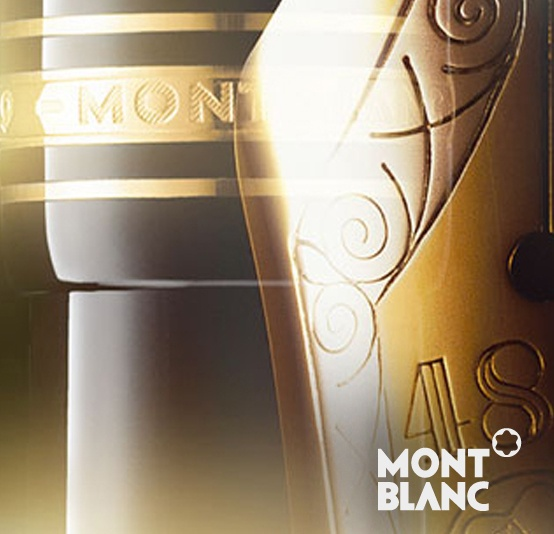"""""""Montblanc is one of the world's leading brands of luxury writing instruments, watches, jewellery, leather goods, fragrances and eyewear.""""...     www.montblanc.com"""