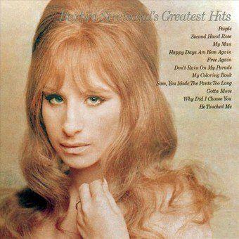 Music In 2020 Greatest Hits Barbra Streisand Album Covers