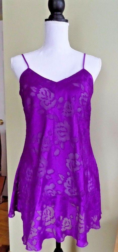 Purple Vintage Lingerie