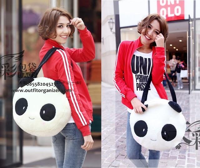 Bunny & Panda Big Bag - IDR 160.000,- | outfitorganizer.com 08558204523