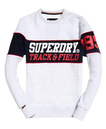8f2d16bd9c2b9 Superdry Sudadera con cuello redondo Triple Drop Track