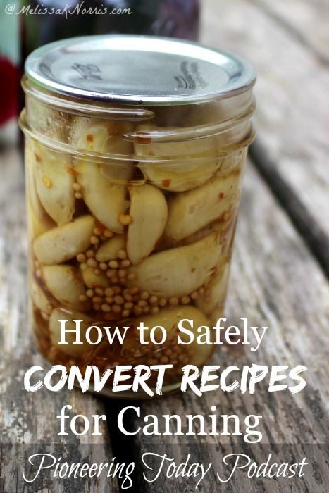 Wanted to know if a recipe was safe for canning? Learn how to safely convert your recipes for home canning, plus other canning safety tips. Home canned food is frugal and a great way to be prepared, but safety is important. Read now to make sure your recipes and techniques are up to date.