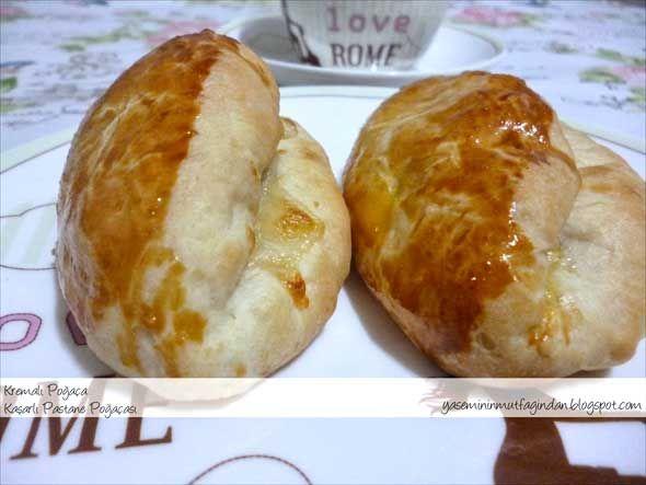 Kaşarlı Pastane Poğaçası Tarifi | Yemek Tarifleri | Oktay Usta, Pratik Yemekler