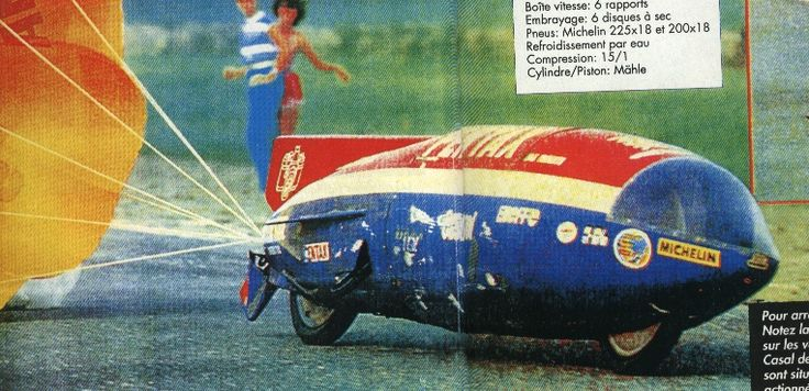 Casal HuVo Record Beater. In 1981 the Dutch Jan Huberts bettered the 50cc speed record with a HuVo-Casal to 224 km/h.