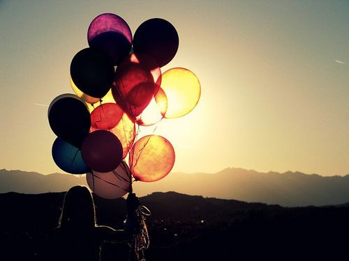 Balloons.Lights, Curls Hair, Colors, Sunsets, Inspiration Pictures, Balloons, Fly Away, Weights Loss, Photography