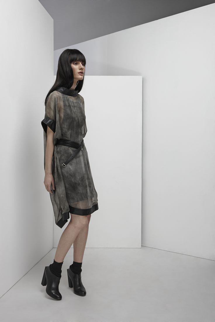 NUBU TIRANA oversized dress / NUBU TIRUR tank dress / NUBU ZARIA belt
