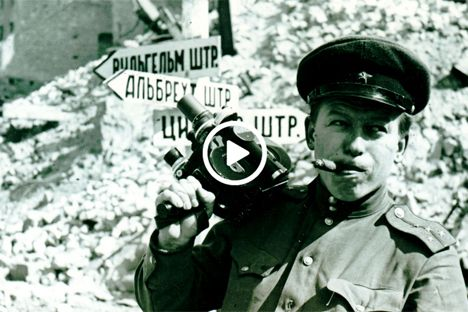 Filming the war on the Eastern Front: the memories of a Soviet cameraman | Russia Beyond The Headlines
