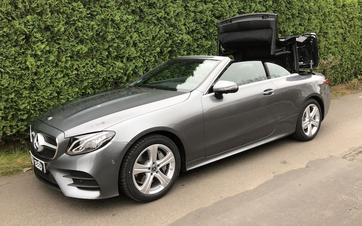 SmartTOP convertible top control for Mercedes-Benz E-Class Cabriolet from Mods4cars