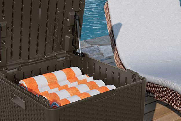 60 Gallon Storage Cube - Sheds & Storage - Suncast® Corporation