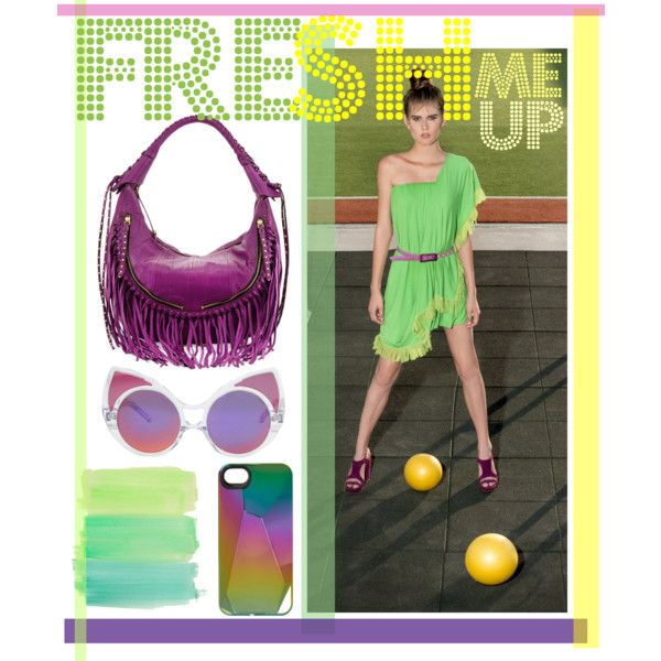 Fresh me up! by natipureidea on Polyvore featuring Oryany, Linda Farrow and MARC BY MARC JACOBS