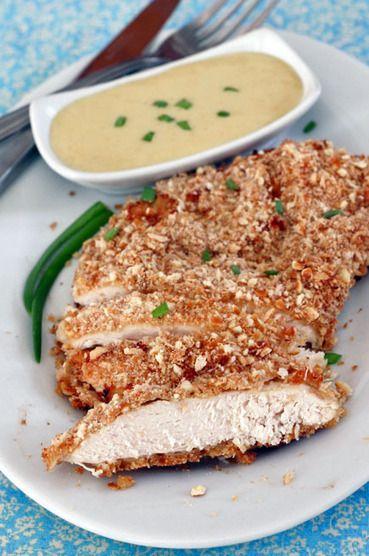 Honey Mustard Pretzel Chicken | Cooking, Food & Beverage: Pasión por la Cocina..... | Scoop.it
