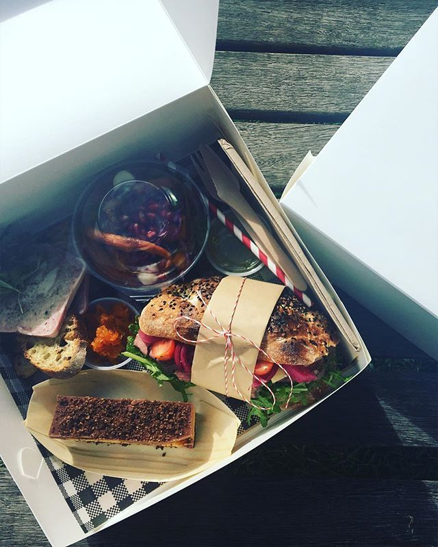 Lunch box- we do corporate catering, picnics #hubertanddan #corporatecatering…