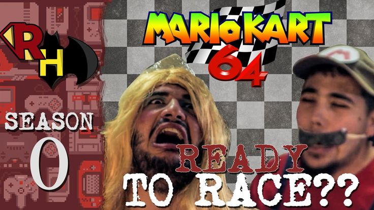 READY / SET / GO .....Lets Race together guys ! In this Episode we play MARIO KART 64 (published by Nintendo in 1996)