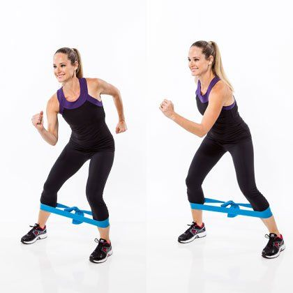 Use resistance bands to sculpt and tighten your booty. This workout will tone your lower body and help you build lean muscle. Boost your booty and get fit with these fat-burning exercises.