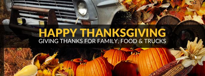 Happy Thanksgiving from LMC Truck!