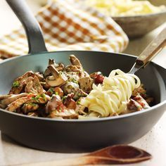 WeightWatchers.de: Weight Watchers Rezept - Geschnetzeltes mit Champignons