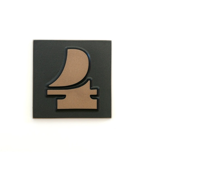 Eames House Numbers From Heath Ceramics Interior