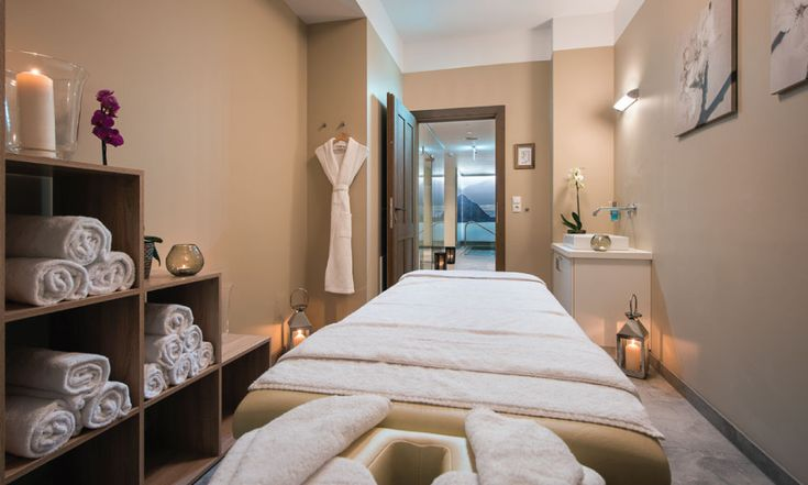 Treatment room for massages, manicures, pedicures and pampering! #luxurychalet #spa #stanton #skiholiday #ladies