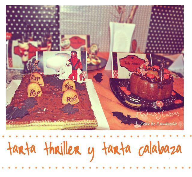 by Hadas Y Cuscus TARTA THRILLER Y PUMPKIN CARROT CAKE http://www.hadasycuscus.es