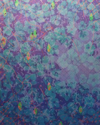 Ностальгия V (зеленый / пурпурный)