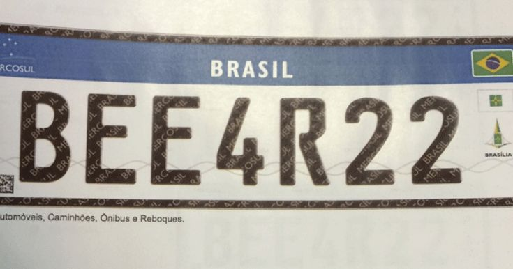 Denatran apresenta novas placas de automóveis no padrão do Mercosul
