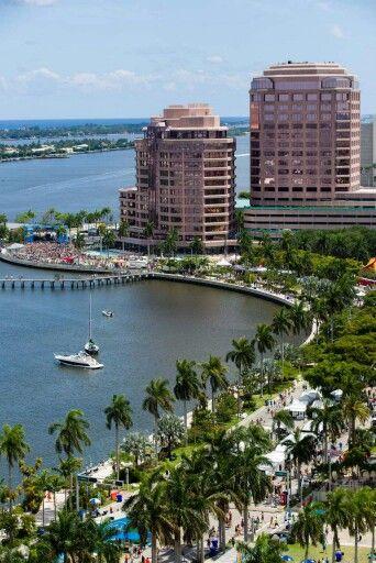 SunFest Downtown West Palm Beach Florida