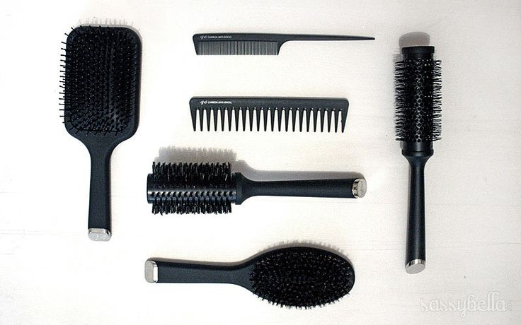 How to clean hair brushes and combs http://www.sassybella.com/2013/02/how-to-clean-hair-brushes-combs/