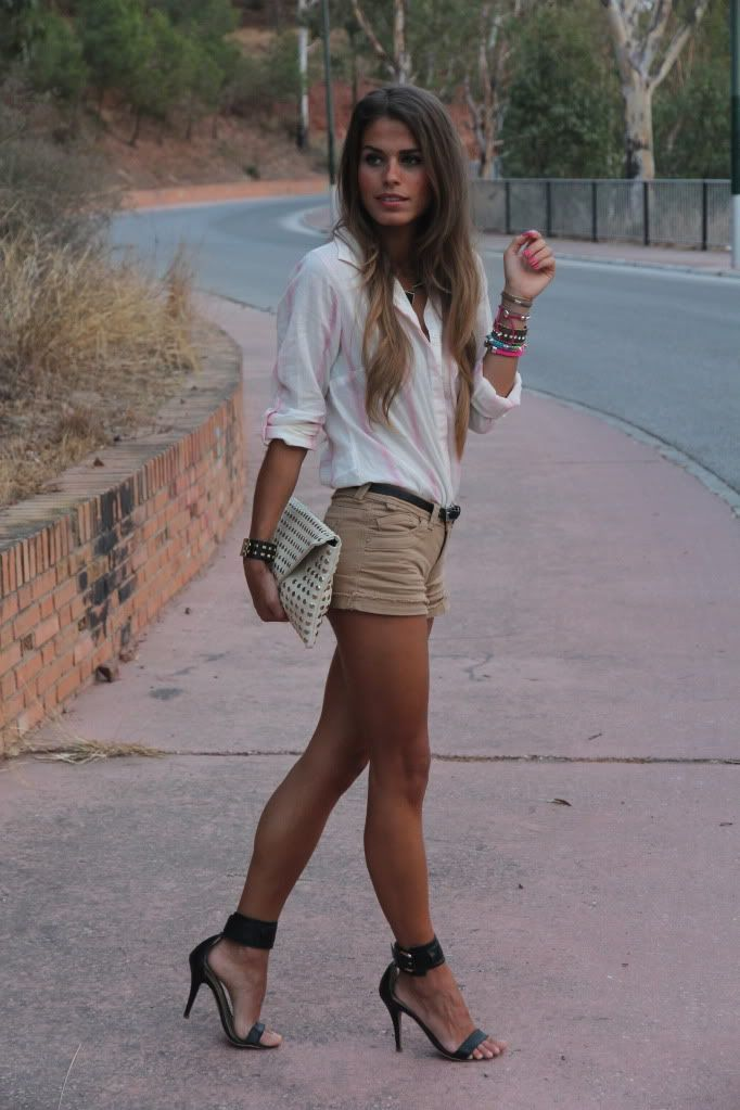 neutrals, shoes,...oh and her legs!!                                                                                                                                                                                 More