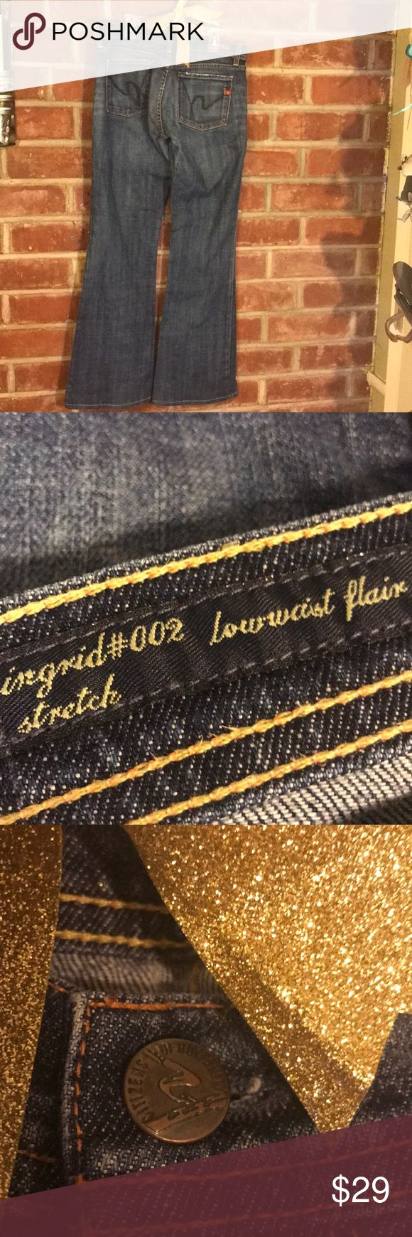 Citizens Of Humanity Flair Jeans Like New! Citizens of Humanity Flair Jeans   No tears, rips, or fraying. Citizens Of Humanity Jeans Flare & Wide Leg