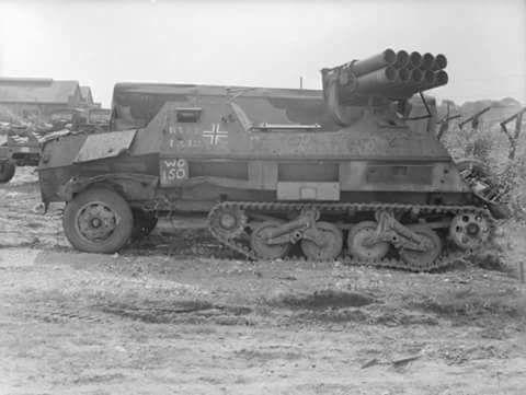 Panzerwerfer 42 auf Maultier, Sd.Kfz 4/1