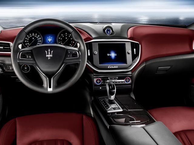 Luxury Cars  :   Illustration   Description   Maserati Reveals New Ghibli