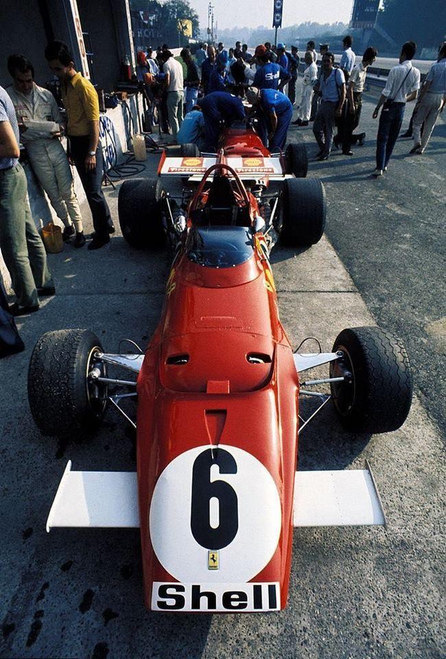 Ferrari 312B, 1970 Italian Grand Prix at Monza