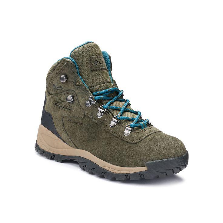 Columbia Newton Ridge Plus Women's Waterproof Hiking Boots, Size: 7.5, Green Oth