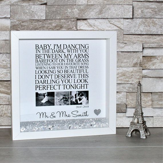 A4 Ed Sheeran Lyrics Typography Print Song Gift Home UNFRAMED Thinking Out Loud