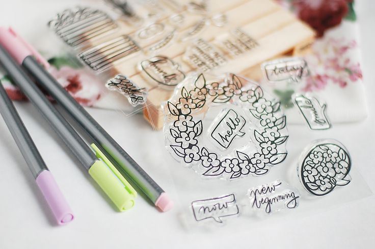 studio forty's clear stamps