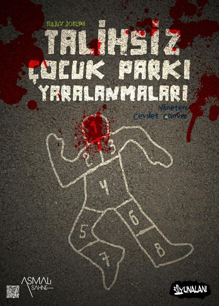 talihsiz çocuk parkı yaralanmaları / 2013 / asmalı sahne