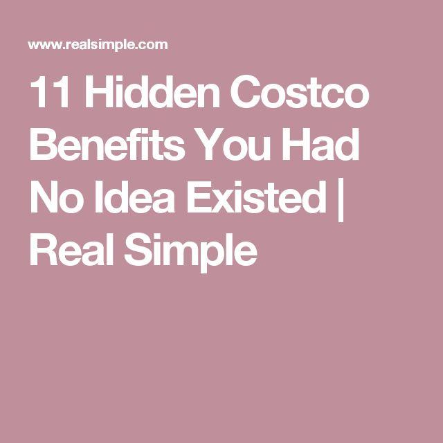 11 Hidden Costco Benefits You Had No Idea Existed | Real Simple