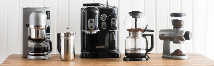 Get Brewing with KitchenAid's Coffee Products