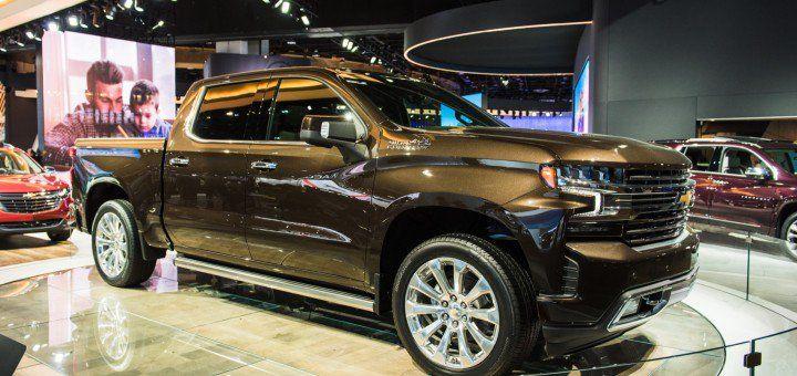 High Country Truck >> 2019 Chevrolet Silverado 1500 High Country Exterior 2018