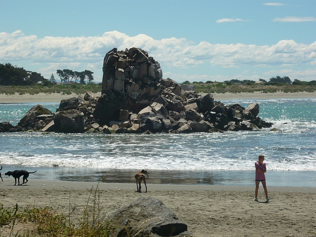 Shag Rock after the Feb. 22nd 2011 earthquake