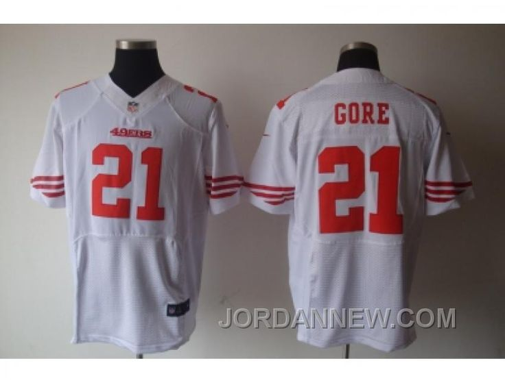 http://www.jordannew.com/nike-nfl-san-francisco-49ers-21-frank-gore-white-elite-jerseys-discount.html NIKE NFL SAN FRANCISCO 49ERS #21 FRANK GORE WHITE ELITE JERSEYS FOR SALE Only $23.00 , Free Shipping!