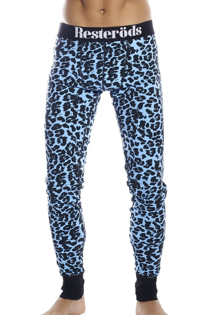 #long #john #new #collection #winter #2014 #Resteröds  http://www.underwear-online.com/producten/heren/boxershorts/lange-onderbroek/58411/resterods-long-john-s-leopard.html