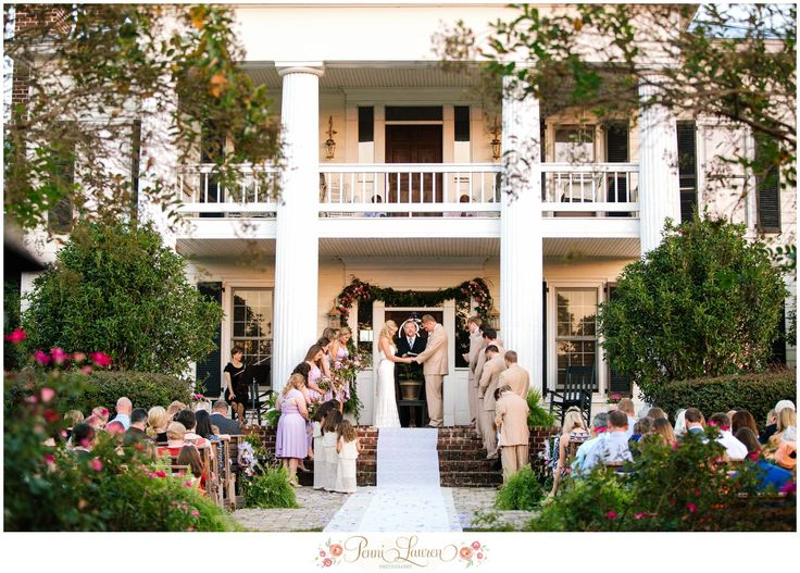 Southern Wedding Antebellum Homeoutside