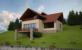 Resultado De Imagen Para Houses On A Slope Designs Small Cottage Homes House Design Photos Small Cottage House Plans