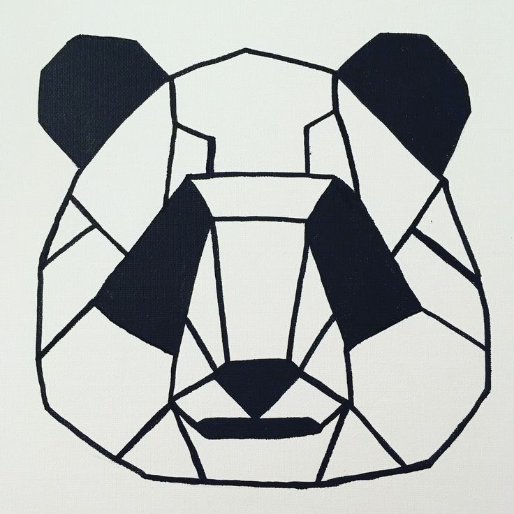 21 best animaux origami dessin images on Pinterest | Animaux, Drawings and Geometric drawing