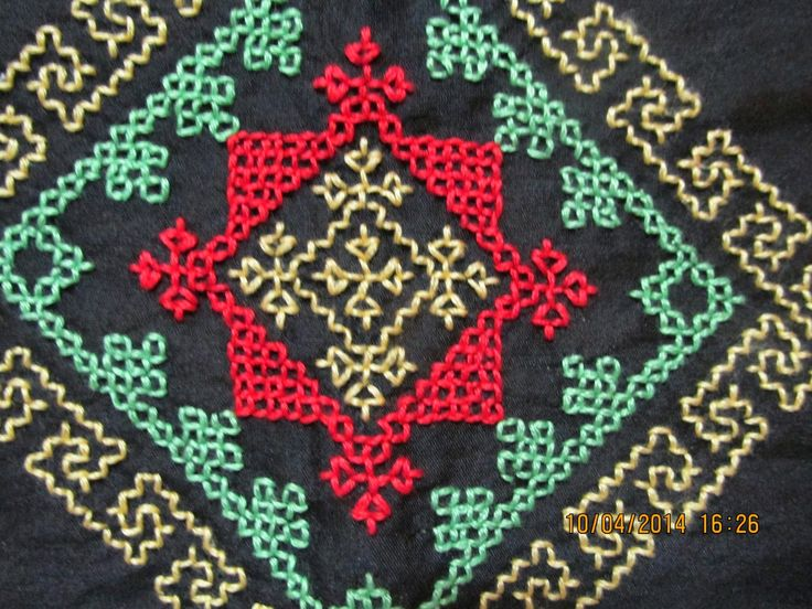 My craft works: Kasuti Embroidery