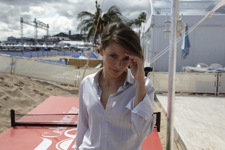 """Jasmine Trinca pour """"Miele"""" de Valeria Golino dans la sélection Un certain regard. © Getty Images pour OCS / Thierry Lebraly."""