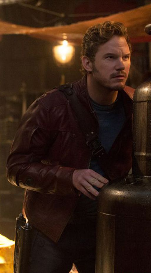Chris Pratt stars as Peter Quill in Marvel's Guardians of the Galaxy